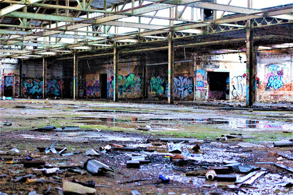 LEIPZIG - Lost Place - Ground