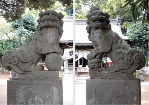 狛犬(こまいぬ/高麗狗)