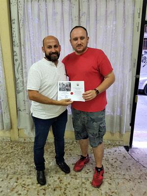 """3º Premio II concurso de fotografia """" Virgen de las Angustias """"  Alberto Sanchez"""