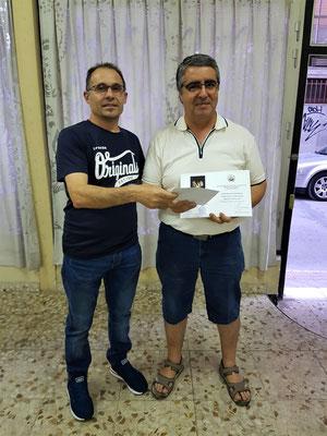 "2º Premio II concurso de fotografia "" virgen de las Angustias "" Julian Escudero"
