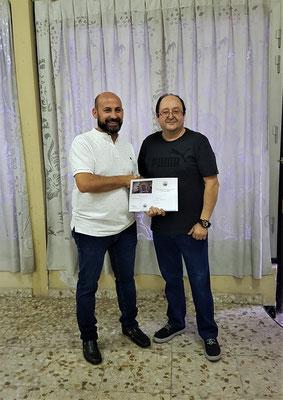 """1º Premio II concurso de fotografia """" Virgen de las Angusias """" Fco. Javier de la Vara"""