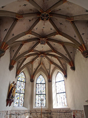 Das schöne Kreuzrippengewölbe