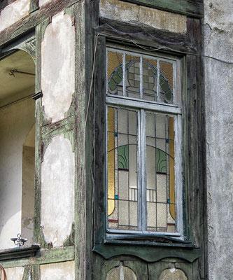Eines der schönen Jugendstilfenster
