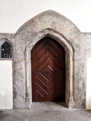 Eingang zur Sakristei