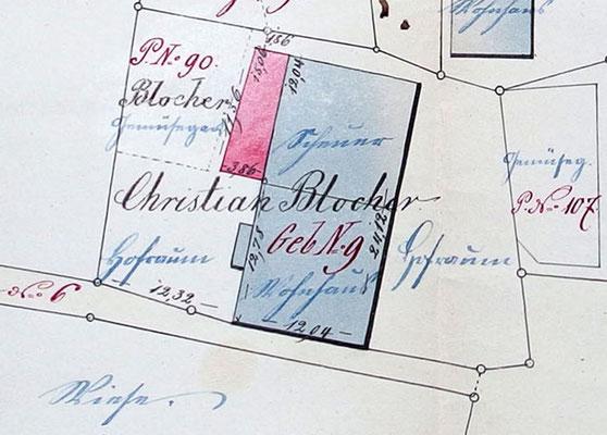 Anbau (rot) von 1876