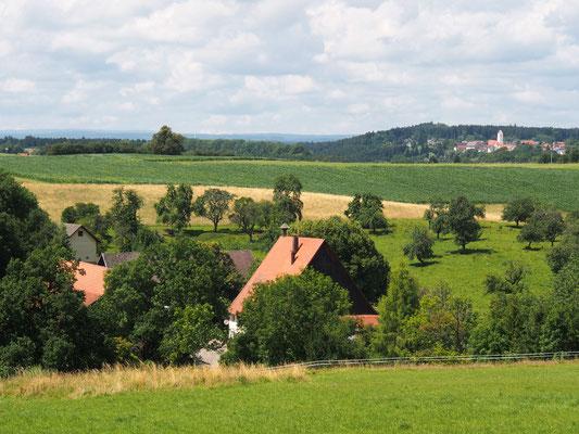 Blick über den Sonthof Richtung Neukirch