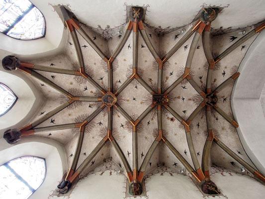 Das spätgotische Kreuzrippengewölbe