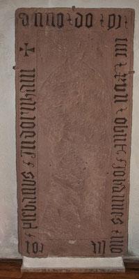 Grabplatte