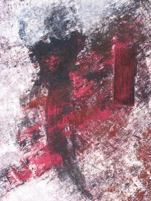 Addio, 2011, 100x80 cm
