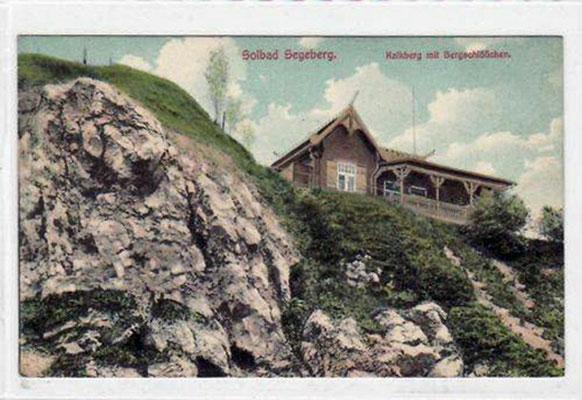 aus gegebenem Anlass (Abriss Mitte Okt. bis Anfang Nov. 2015): Das ehemalige Bergschlösschen in seiner Anfangszeit (gebaut um 1902?)