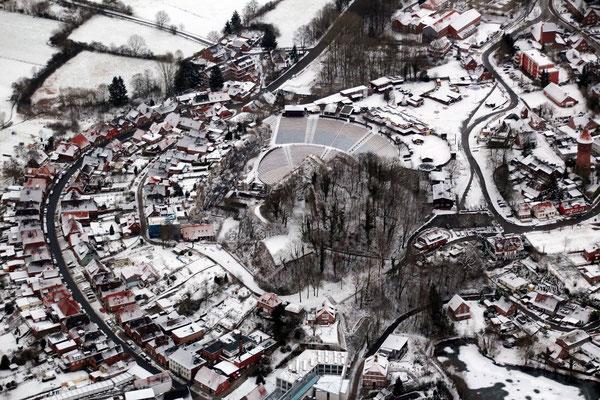 Der Kalkberg im Januar 2016 (von Karsten Wilkening, LN)