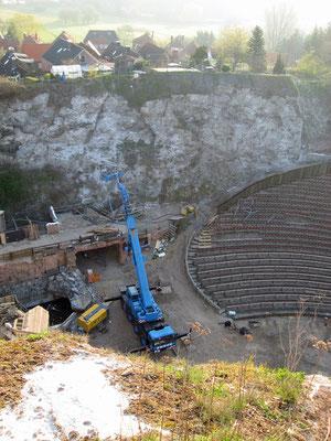 Bergsicherungsarbeiten 2010