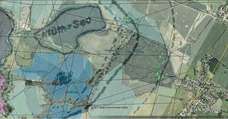 Kartierung RWA-Nester aus April u. Okt. 2013