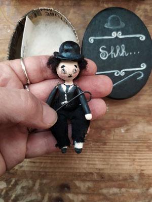 Charlie Chaplin mini bambolina