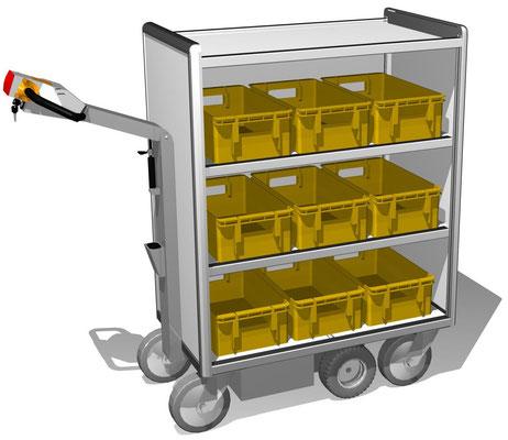 08 E-Mobil für Postkisten und Pakete