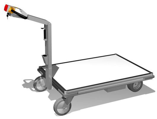 13 E-Mobil Plattformwagen, verschiedene Größen möglich