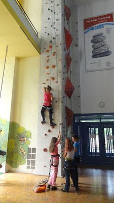 Klettern mit Magda