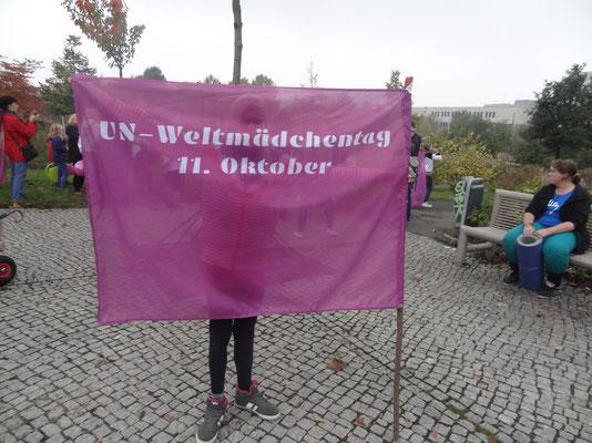 Weltmädchentag - Alice Salomon Platz