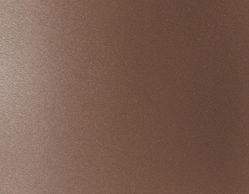 Coloris rouille finement texturé