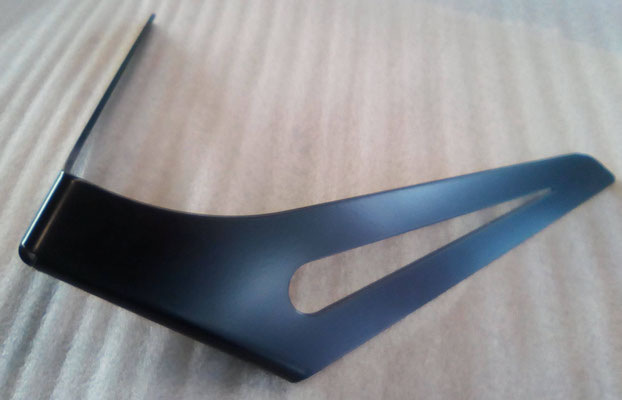 Pied de table basse DelYa coloris noir satiné RAL 9005