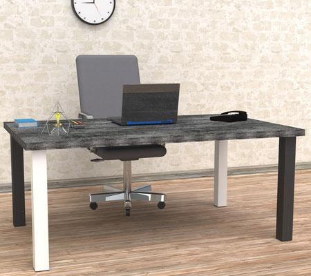 pied de table carré pour bureau