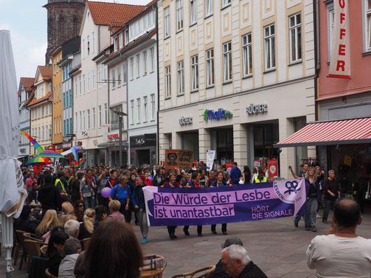 Demo-Ankunft am Marktplatz, 19.05.2018, (C) Barbara Guth