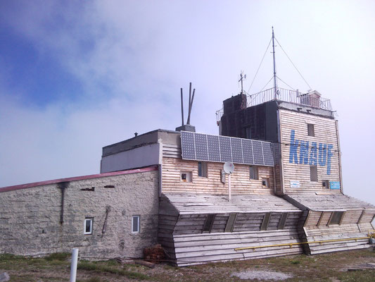 Karpatenwanderung 2009: Berghütte