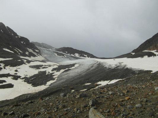 Alpenüberquerung 2012, Similaun-Gletscher