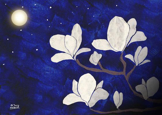 the moonlit flower (2018.3)