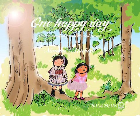 【One happy day】Illustration×Illustration (2012.4.29SUN)