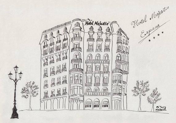 Majestic Hotel Barcelona  (1997.6.5)