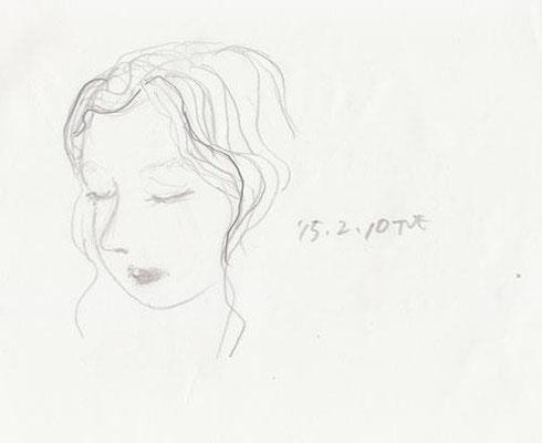 上子 eldest daughter (2015.2.10TUE)