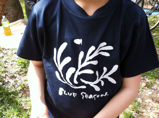 【BLUE SEASON】-T shirt (2012)
