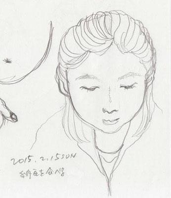 上子 eldest daughter (2015.2.15SUN)