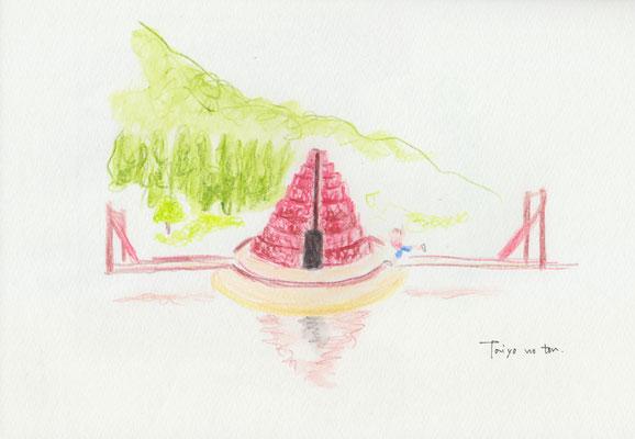 Murou art forest - 太陽の塔 (2017.9.23SAT)