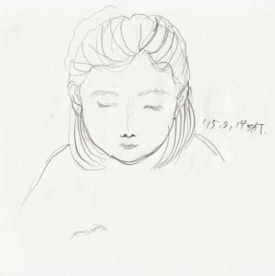 上子 eldest daughter (2015.2.14SAT)