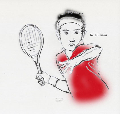 - The French Open 2017 - 【錦織 圭】 Kei Nishikori -a Japanese tennis player (2017.6)