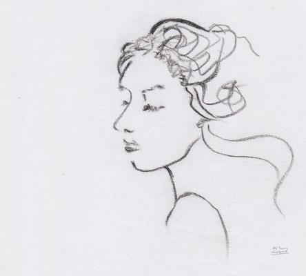 a woman's face (2014.4)