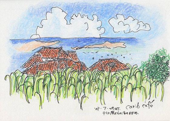 【carib cafe】 石垣島 -Okinawa- Japan (2007.7.29SAT)
