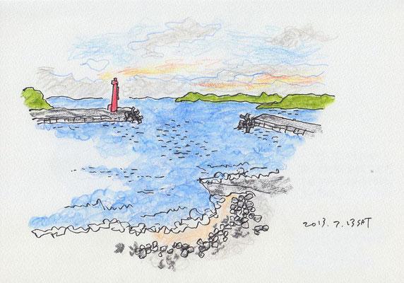 伊勢の海 sea of Ise -Japan (2013.7.13SAT)