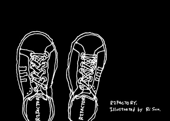 black&white 【sneakers】(2011)
