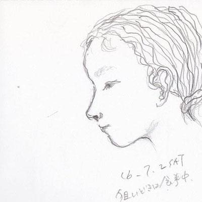 下子 youngest daughter (2016.7.2SAT)