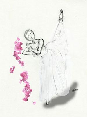 a ballet dancer (2018.6)