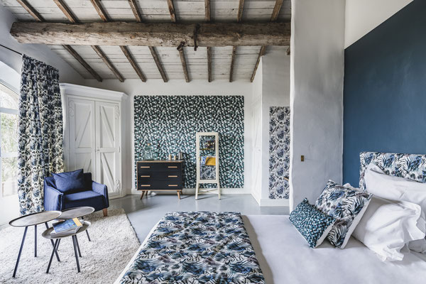 Calade, the « Maison Baluchon » signature room