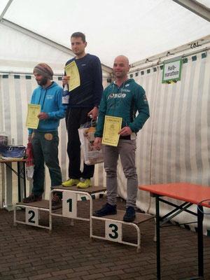 Tim Schicker beim Werdauer Waldlauf.