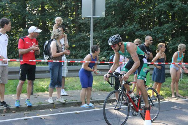 Alexander Leonhardt, 1. Platz Schönheider Stauseetriathlon 2014 (Staffel)