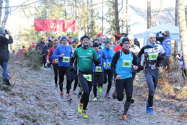 Erik Werner beim Auer Silvesterlauf.
