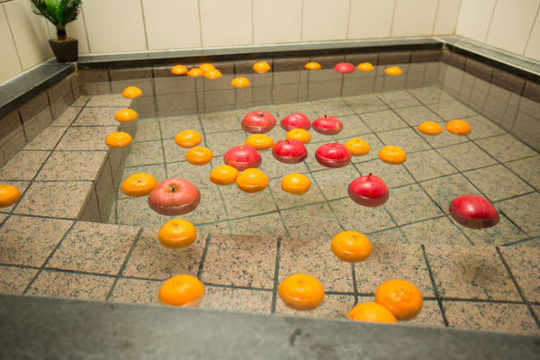 フルーツ風呂