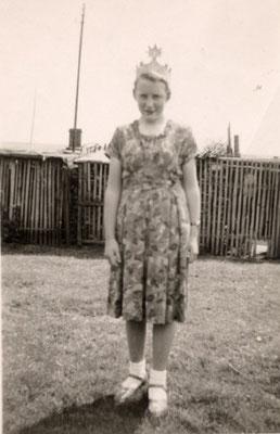 1952 Kinderkönigin Lore Mewes/Vieregge