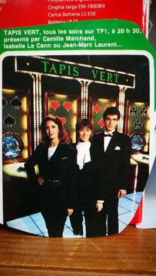 La première équipe du Tapis Vert sur TF1